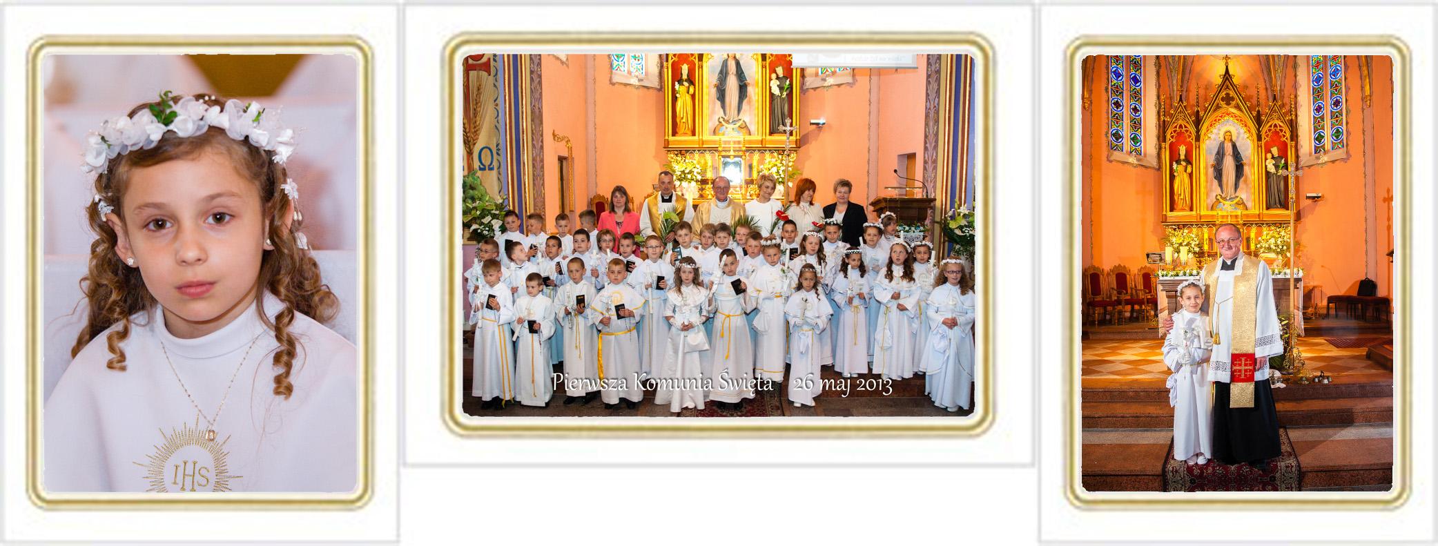 Zdjęcia Pierwszej Komunii Świętej