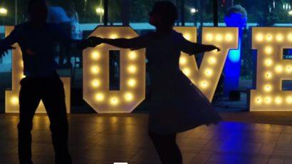 Teledysk z filmu ślubnego